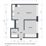 Квартира в Швеции, 54 кв.м.