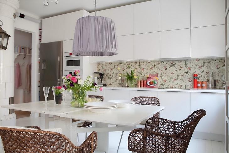 освещение на кухне