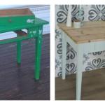 По следам скандинавских рукодельниц или вторая жизнь старой мебели