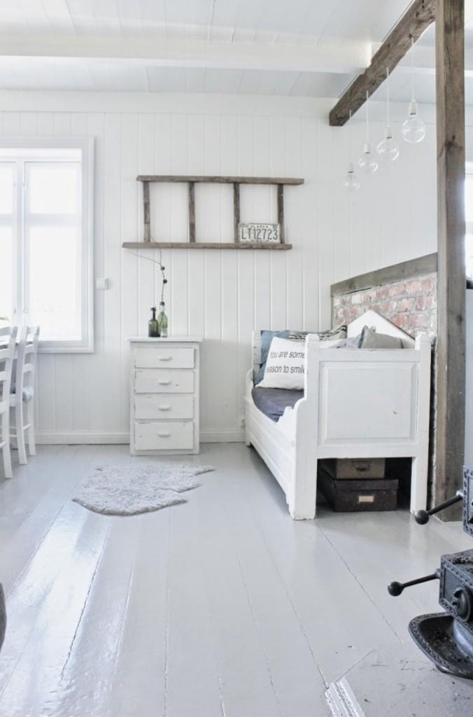 Дом Мии из Норвегии.  Кухня-столовая