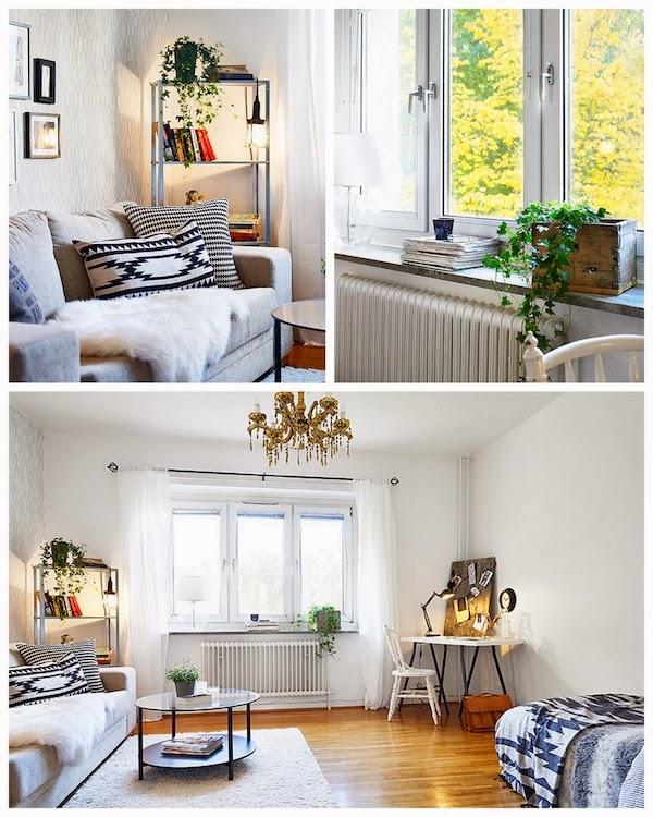 До и После для шведского агенства недвижимости
