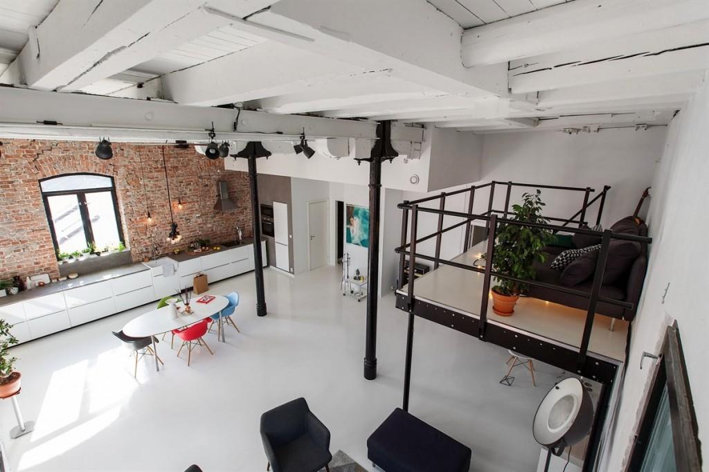 Лофт в квартире в Осло