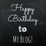Happy birthday to my blog! 2 years