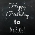 Happy birthday to my blog! 2 years