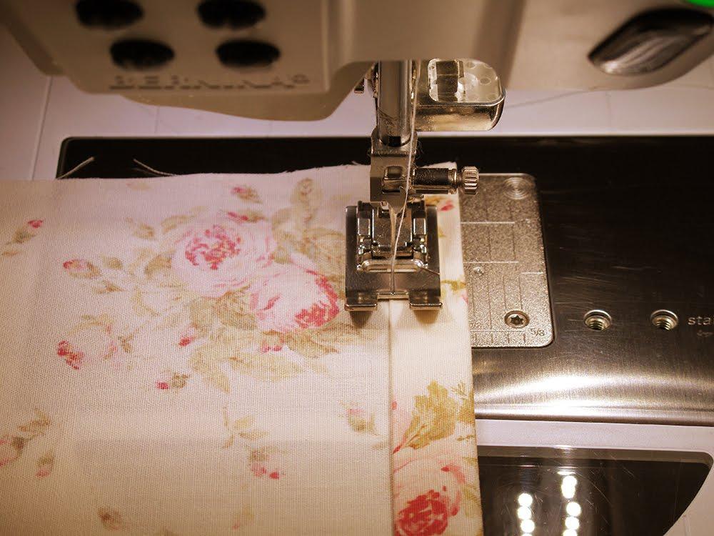 Мастер-класс по шитью наволочки с вязаным кантом