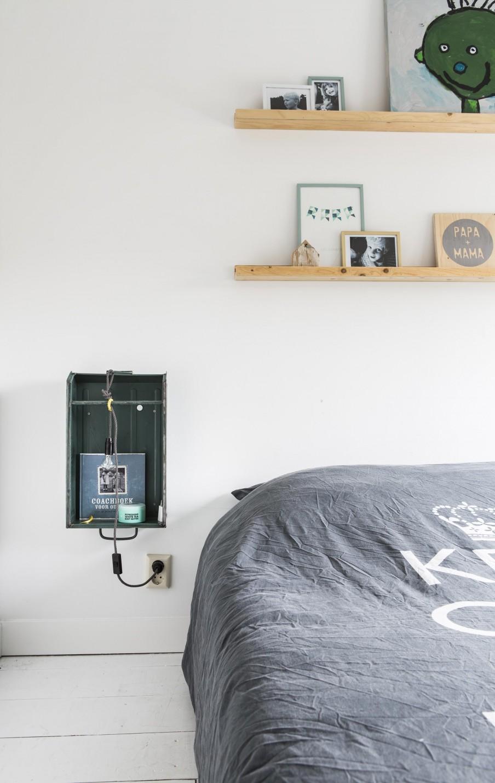 House in Amersfoort Дом в Нидерландах в Амерсфорте скандинавский стиль белые стены студия оформление детской комнаты